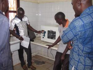 New dry heart steriliser for Azur clinic