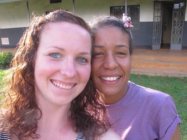 Sara & Laura Volunteer Report