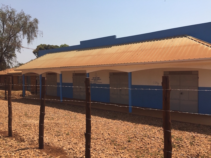 View of the front of Hoima Maternity Waiting Home