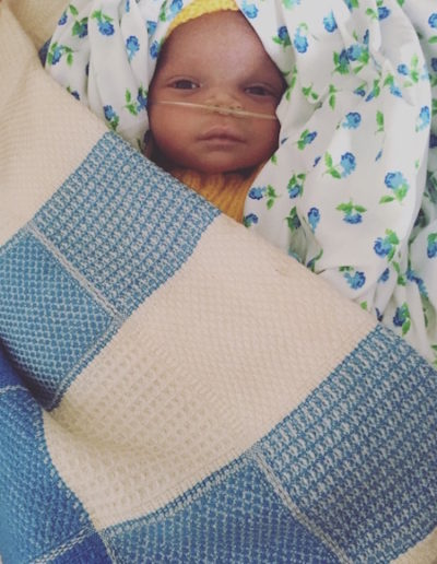 Beautiful baby on Monkey Ward with NUIKI