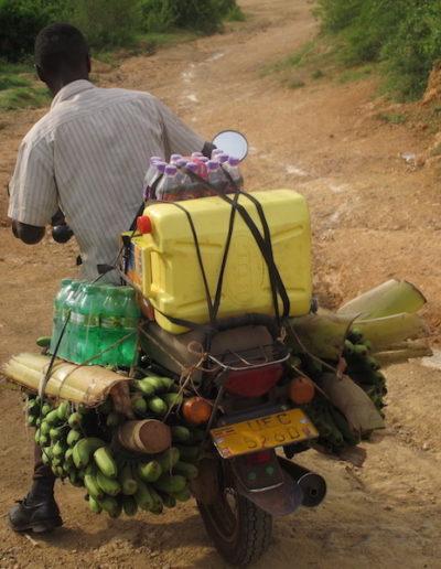 Boda boda delivery to Runga