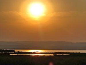 Sunset over The White Nile, Uganda