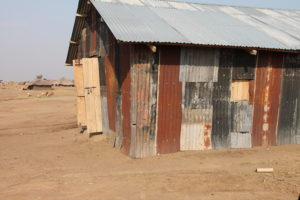This is the church in Runga where we held our outreach clinic every eight weeks before we opened our Maternity Clinic
